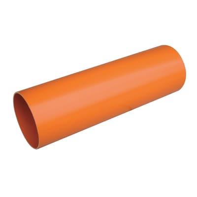 Tubo arancio ø 125 mm x 1 m