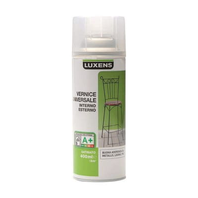 Smalto spray Finitura Luxens trasparente satinato 400 ml