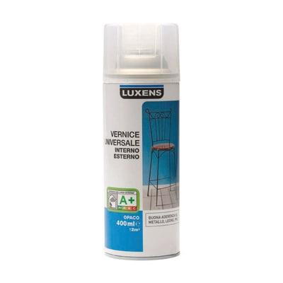 Smalto spray Finitura Luxens trasparente opaco 400 ml