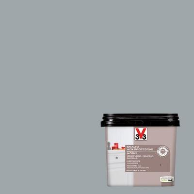 Smalto Mobili V33 grigio chiaro satinato 0,75 L