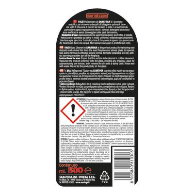 Pulitore spray Saratoga Falò Pulisci Vetro 500 ml