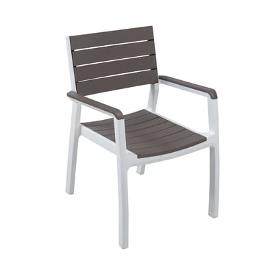 Sedia impilabile Harmony grigio antracite