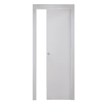 Porta da interno scorrevole prado bianco 70 x h 210 cm for Porte da interno leroy merlin