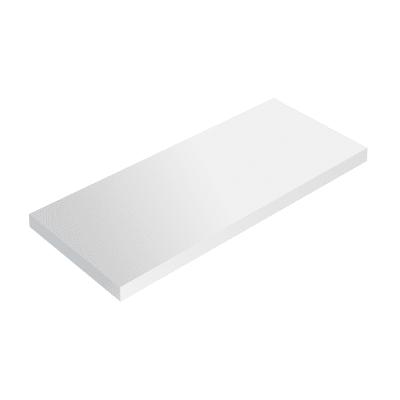 Mensola Spaceo bianco L 56 x P 23,7, sp 2,2 cm
