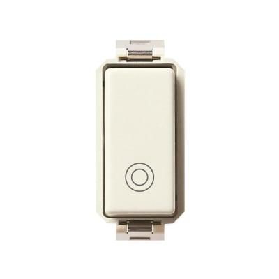 Pulsante 10A 1P Vimar serie 8000 bianco