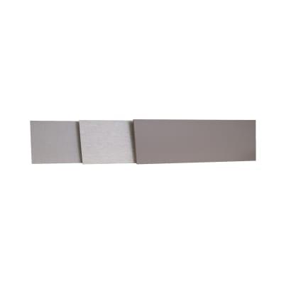 Alzatina su misura Stardust laminato grigio H 10 cm