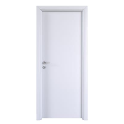 Porta da interno battente Pearl bianco 60 x H 210 cm reversibile