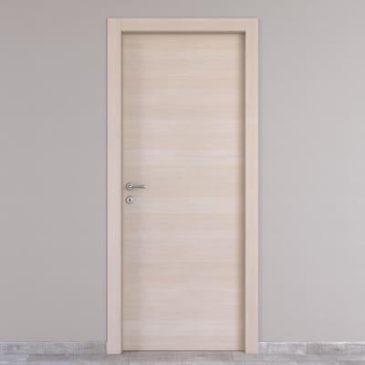 Porta da interno battente Grain rovere grano 60 x H 210 cm reversibile