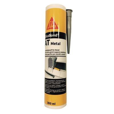 Sigillante ibrido SikaBond AT Metal rame Sika 300 ml, per alluminio, acciaio, metallo