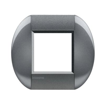 Placca 2 moduli BTicino Livinglight tight
