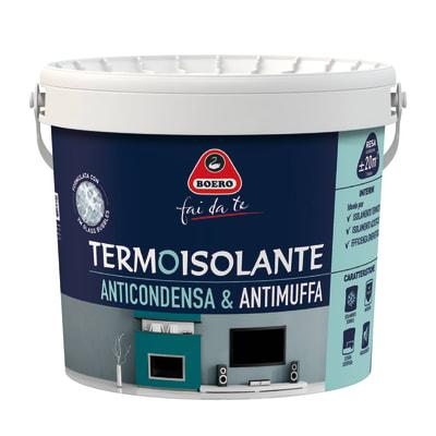 Idropittura antimuffa termoisolante bianca boero 4 l for Antimuffa leroy merlin