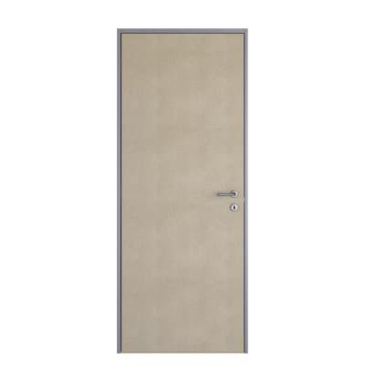 Porta da interno battente Pollock filomuro grezza 70 x H 210 cm reversibile