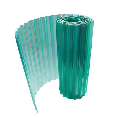 Rotolo ondulato Onduline Onduclair Plr verde in poliestere 500 x 100  cm, spessore 1 mm