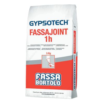 Stucco per cartongesso Fassajoint 1h Fassa Bortolo 5 kg