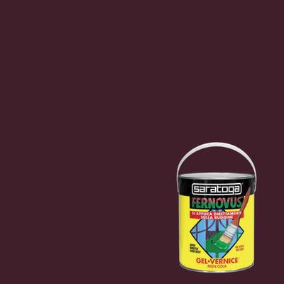 Smalto per ferro antiruggine Saratoga Fernovus marrone brillante 2,5 L