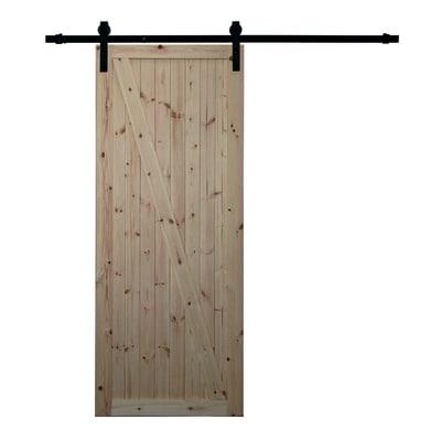 Porta da interno scorrevole Factory grezza 86 x H 213 cm reversibile