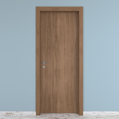 Porta da interno battente Aztec 60 x H 210 cm reversibile