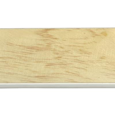Battiscopa impiallacciato verniciato rovere 10 x 75 x 2400 mm