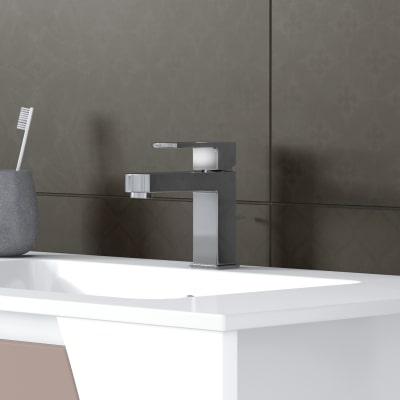 Mobile bagno Soft visone L 152,5 cm