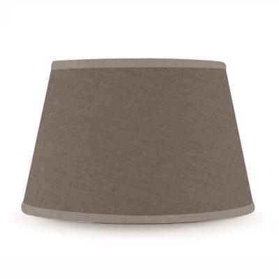 Paralume per lampada da tavolo personalizzabile Tronco cono ovale tortora
