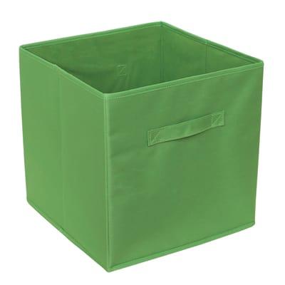 Cesta L 31 x P 31 x H 31 cm verde