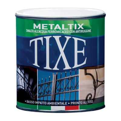 Smalto per ferro antiruggine Tixe Metaltix nero antichizzato 0,25 L