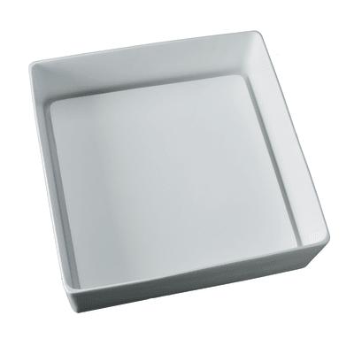 Lavabo da appoggio quadrato Trabocchetto L 40 x P 40 x H  13 cm