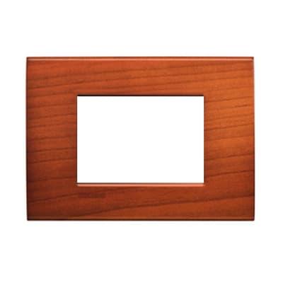 Placca 3 moduli BTicino Livinglight ciliegio