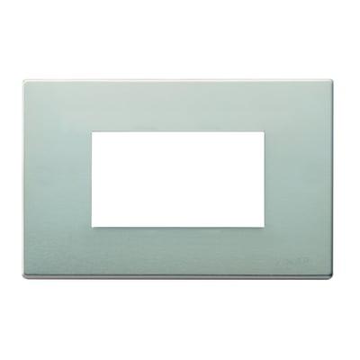 Placca 3 moduli Vimar serie 8000 oro