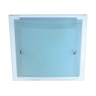 Plafoniera Naxar bianco L 30 x H 30 cm