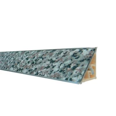 Alzatina alluminio granito L 300 x H 2,7 cm