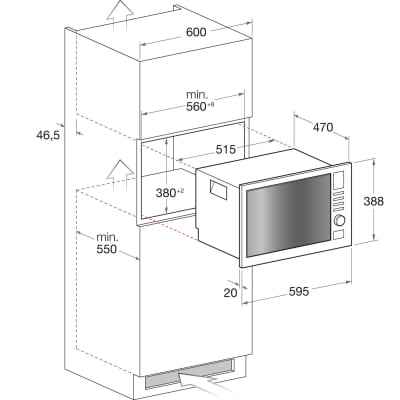 Forno microonde combinato 8 funzioni Hotpoint MWHA 222.1 X