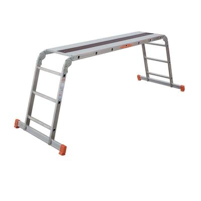 Scala snodata multifunzione alluminio Facal, per lavori fino a 2,8 m