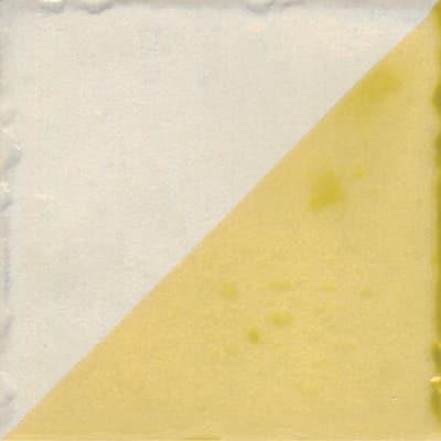 Piastrella con decoro Jolie Triangolo giallo 10 x 10 cm