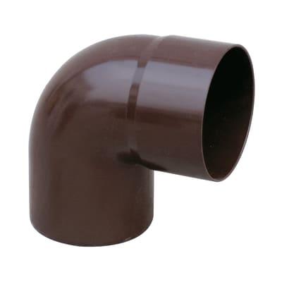 Curva pluviale in plastica Ø 100 mm, 87°