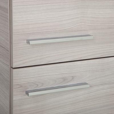 Colonna Elea rovere grigio 2 ante L 30 x H 150 x P 24 cm