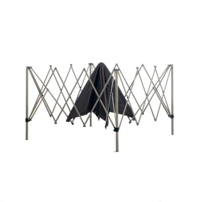 Gazebo Quick up copertura tortora 4 x 4 m