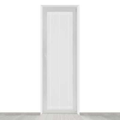 Tendina a vetro per portafinestra Picasso bianco 58 x 240 cm