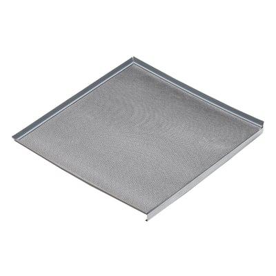 Fondo sottolavello alluminio L 41,4 x P 52,6 x H 3 cm