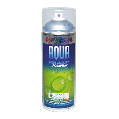 Smalto spray Aqua argento satinato 350 ml