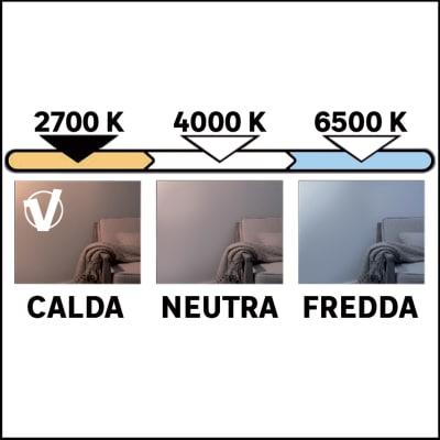Lampadina LED 23000255 GU5.3 =35W luce calda 38°