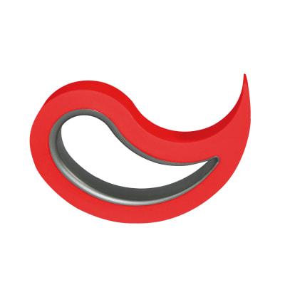 Fermaporta mobile rosso