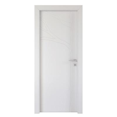 Porta da interno battente Wild bianco 80 x H 210 cm sx