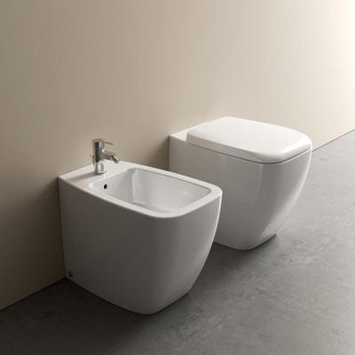 Bidet a pavimento filo muro 21 prezzi e offerte online leroy merlin - Sanitari bagno offerte ...