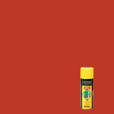 Smalto per ferro antiruggine spray Saratoga Fernovus rosso brillante 0,4 L