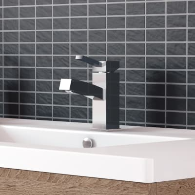 Miscelatore lavabo Twister cromato