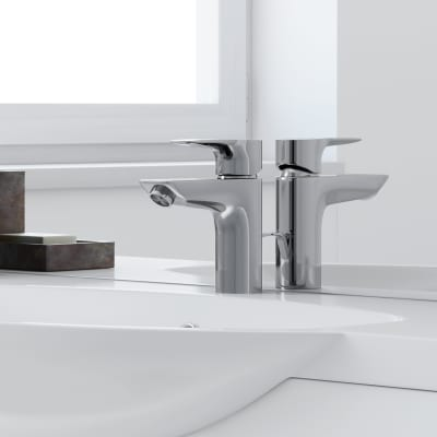 Mobile bagno elise bianco l 120 cm prezzi e offerte online for Florida mobili