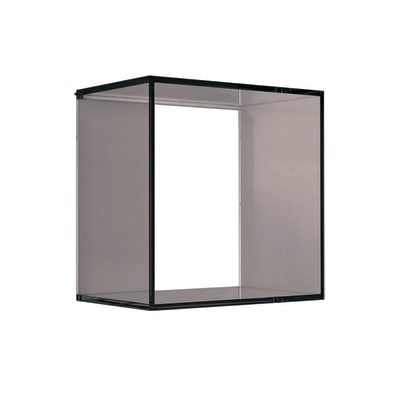 Cubo Kubo Q bronzato L 28 x P 28, sp 0,8 cm
