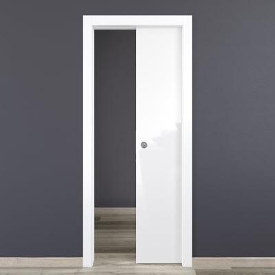 Porta da interno scorrevole Bright 80 x H 210 cm reversibile
