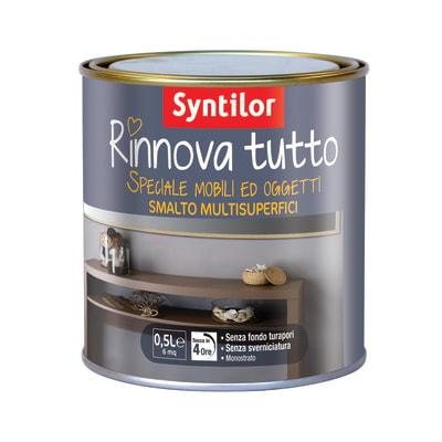 Smalto rinnova tutto syntilor bianco opaco 0 5 l prezzi e for Vernice per termosifoni